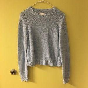 Lou & Grey light blue sweater. MED